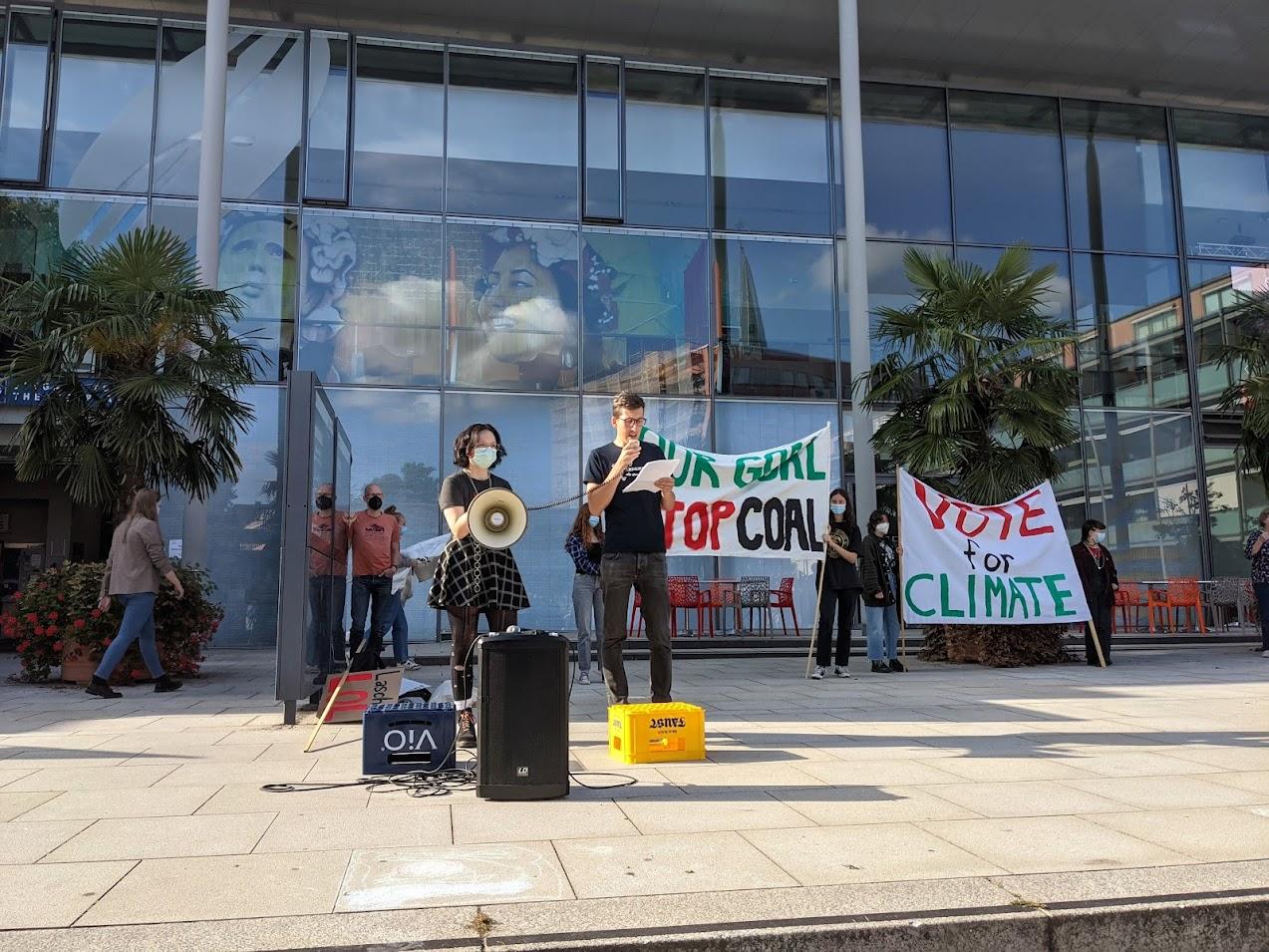 Rede beim globalen Klimastreik am 24.09.2021